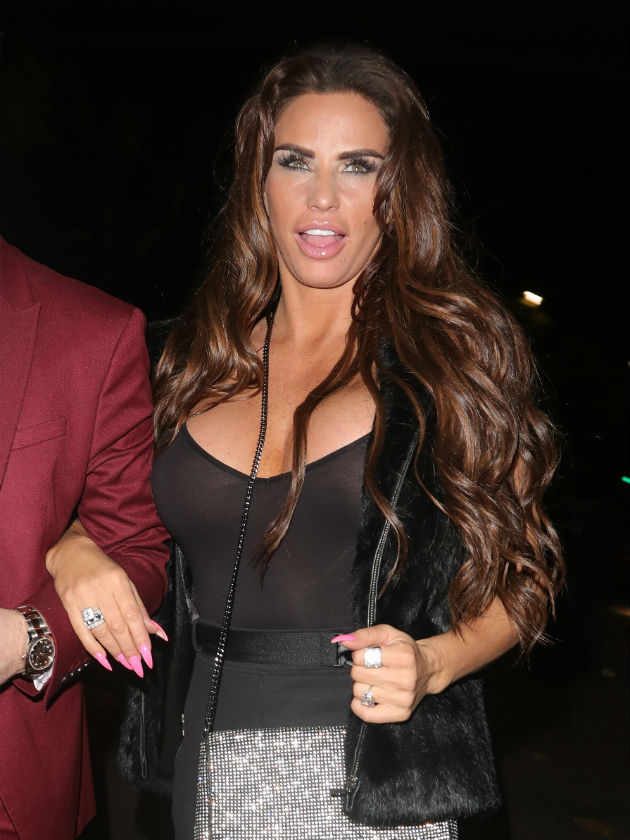 Katie Price 'auditioning for a husband' on Dreamboys judging panel