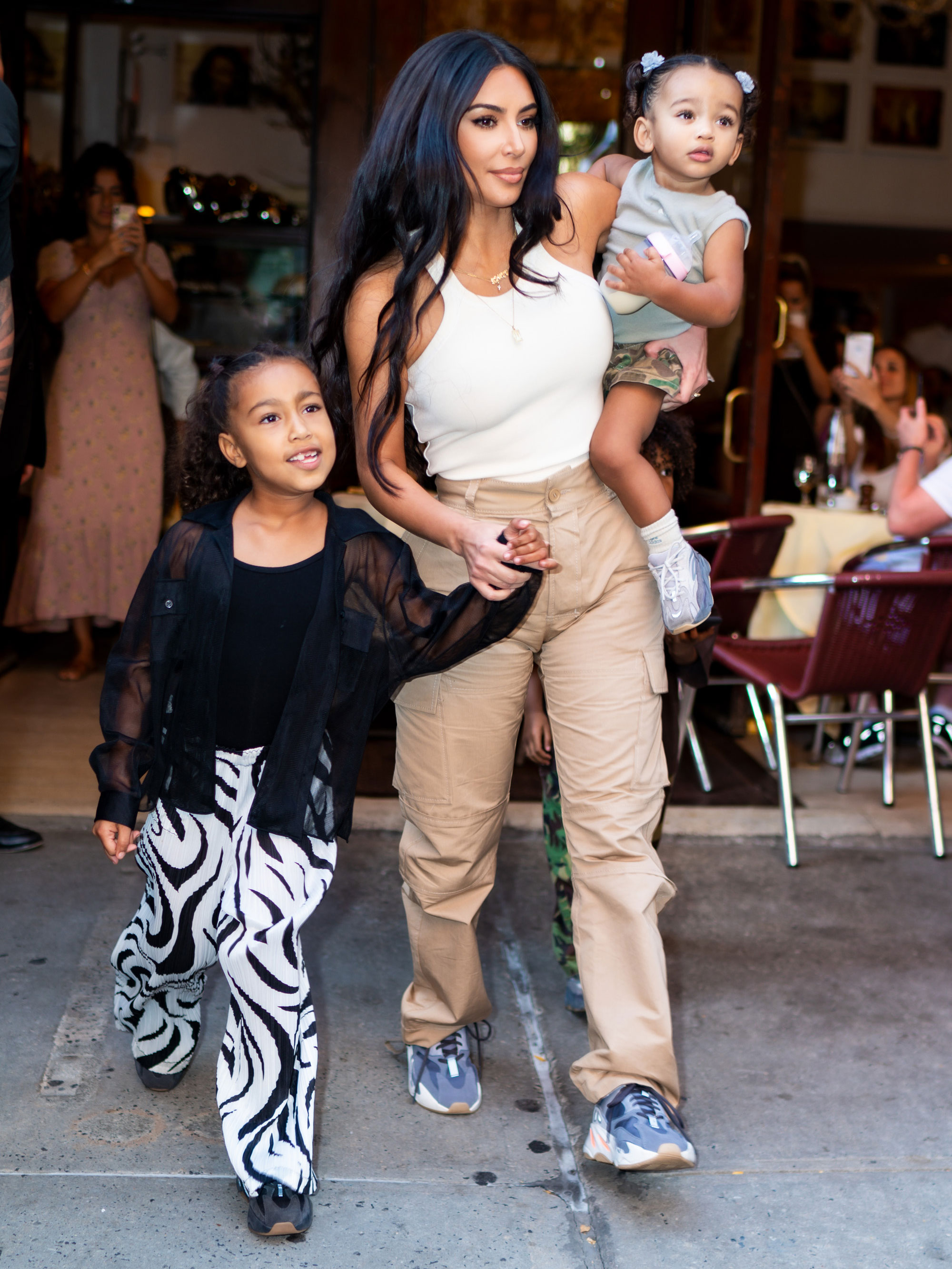 Kim Kardashian fans can't believe how much North looks like Kanye
