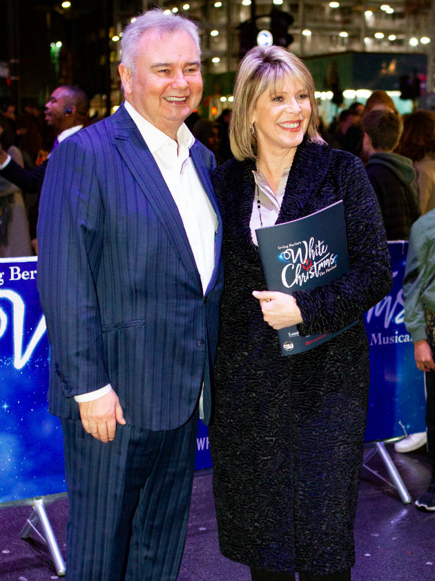 Ruth Langsford didn't invite Phillip Schofield to Eamonn Holmes' birthday
