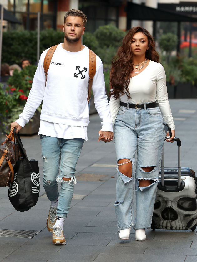 Jesy Nelson has 'never been happier' as she marks one year with Chris