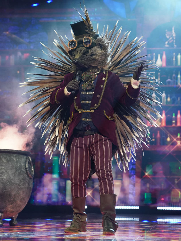 Jason Manford's own kids think he's The Masked Singer's Hedghehog
