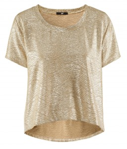 3a63a77a410a Fashion buy of the day: gold metallic t-shirt