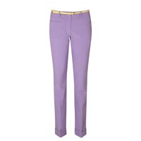 Cropped lilac trousers, £14, Matalan