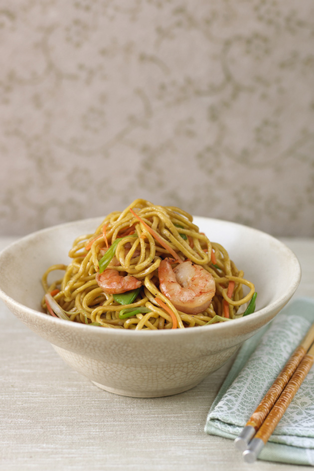 Gok wans healthy prawn chow mein forumfinder Image collections