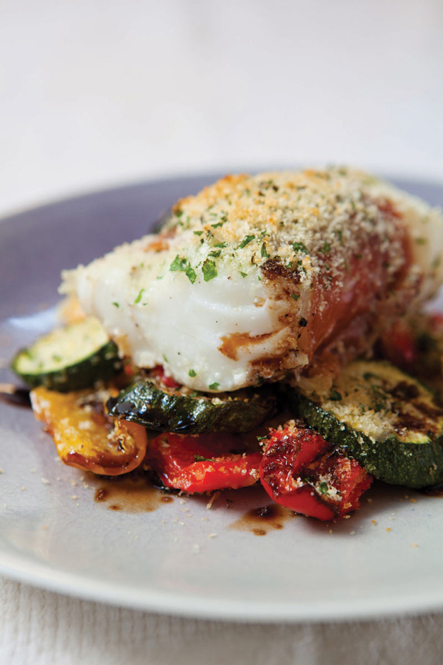 The hairy dieters 39 roasted cod recipe for Roasted fish recipe