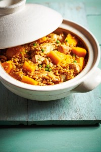 Spiced chicken couscous