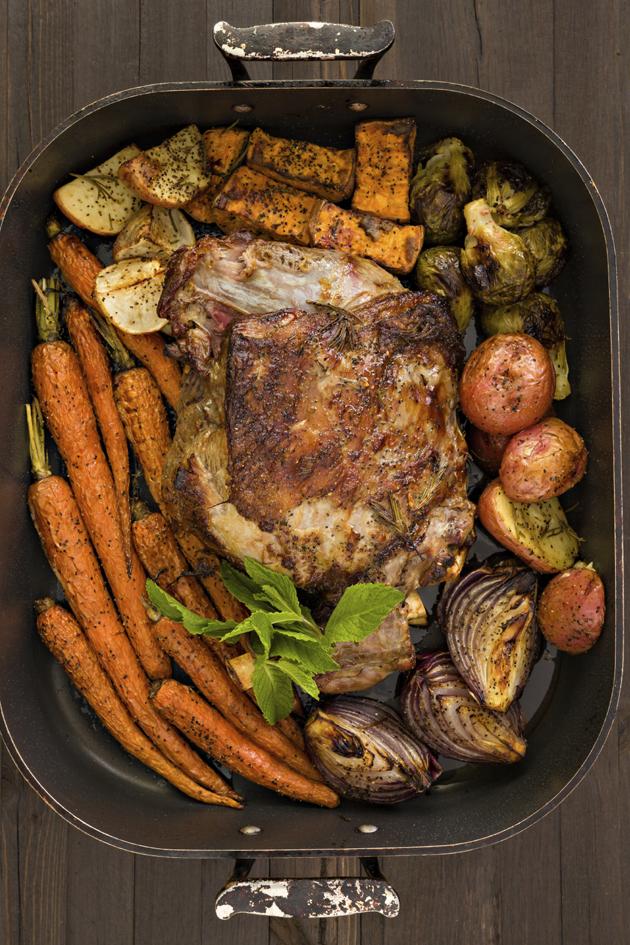 Easy easter roast dinner recipes for Non traditional easter dinner ideas