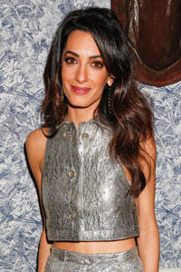 Long Hair? Make Sure To Add In Loose Waves With A Tong Like Amal To