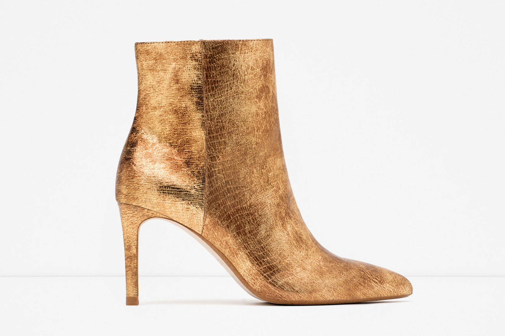 d11e3136036 Be bold – gold ankle boots are sure to get you in the party spirit! £69.99