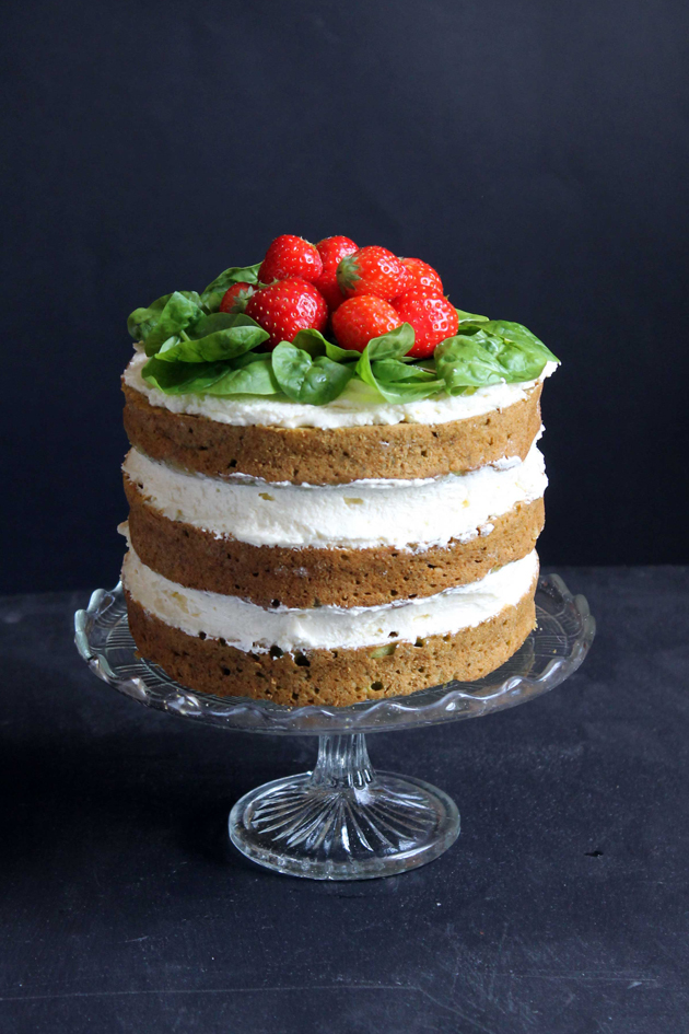 Sweet Vegetable Cake Recipe
