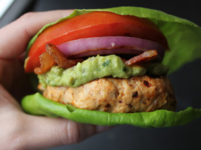 Lettuce-bun-burger