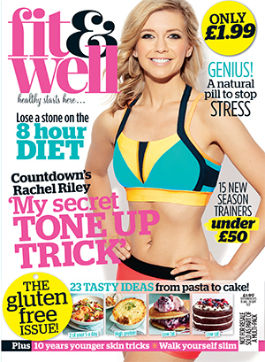 This month's issue of Fit & Well magazine