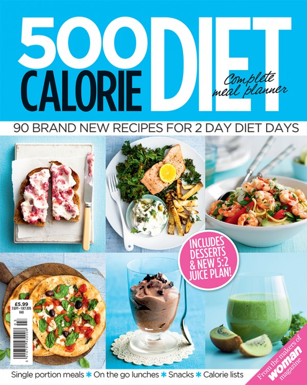 Shed Pounds With The New Woman 500 Calorie Diet Cookbook