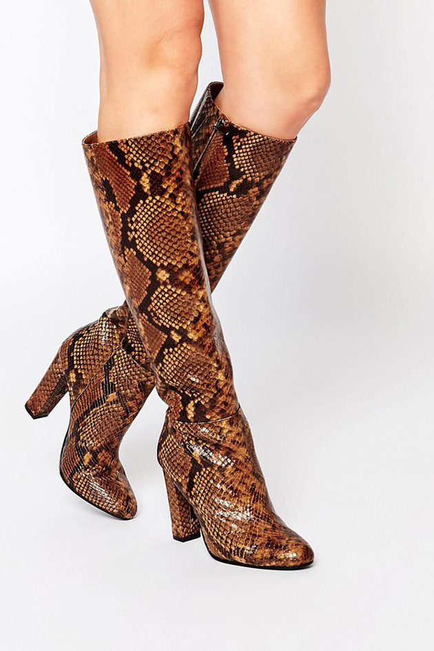 Flattering knee high boots: find the