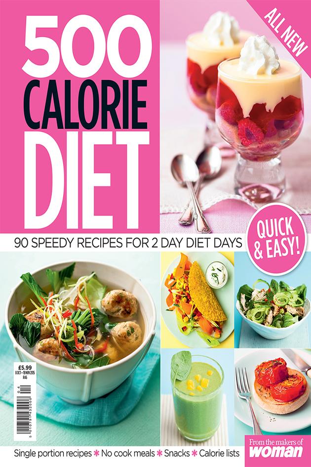 a menu for 500 calorie diet