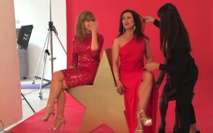 Behind The Scenes With Kate Garraway And Susanna Reid