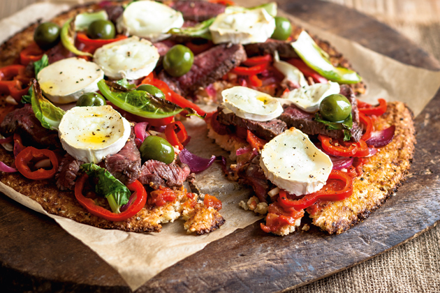 Meat Feast Pizza With Cauliflower Crust Woman Magazine