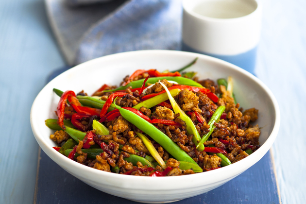 Quick and easy Malaysian mince stir fry - Woman Magazine