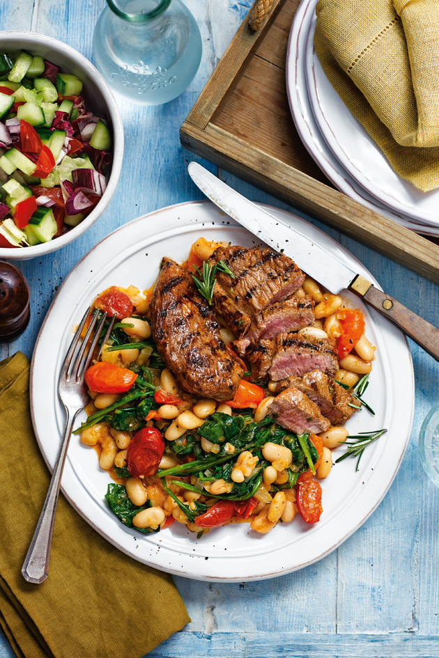 Slimming World Zesty Lamb With Cannellini Beans