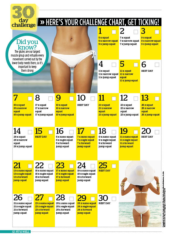 The Bum Exercises You Need For A Firmer Bum In 30 Days