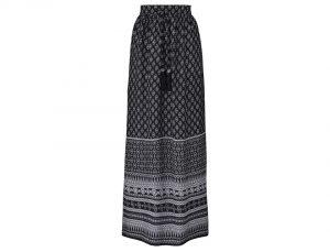 Monochrome Maxi Skirt, £30