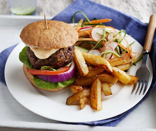 how to make burgers from mince slimming world