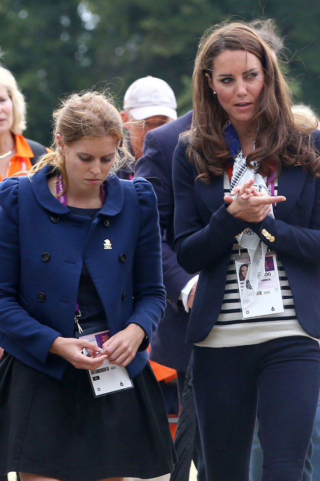 Kate Middleton S Secret Feud With Beatrice And Eugenie Woman