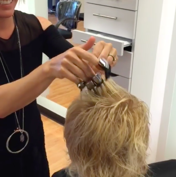 Put down the scissors! Hair claws are the latest way to transform your hairstyle…