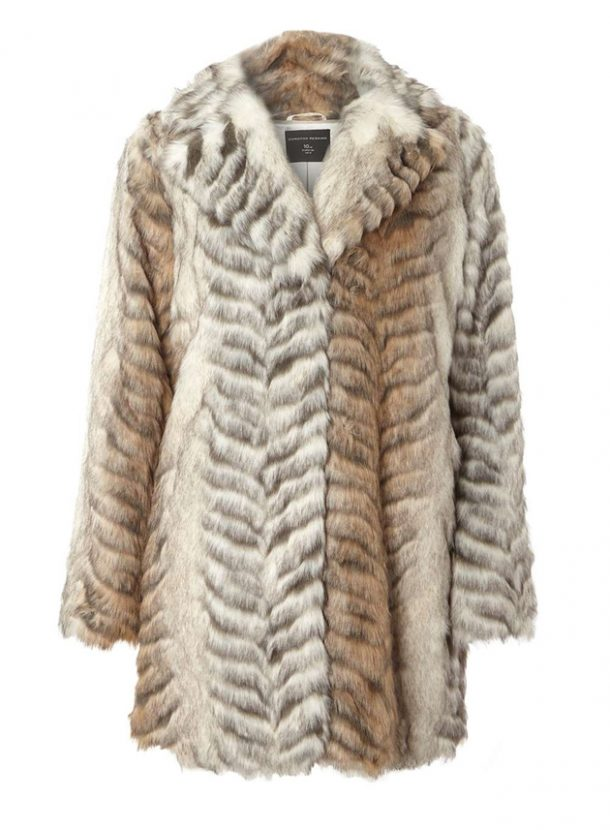 animal fur coat
