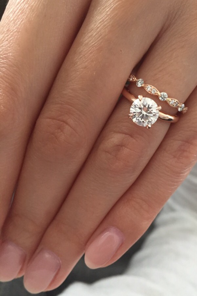 The Most Pinned Engagement Ring Is Dividing Opinion