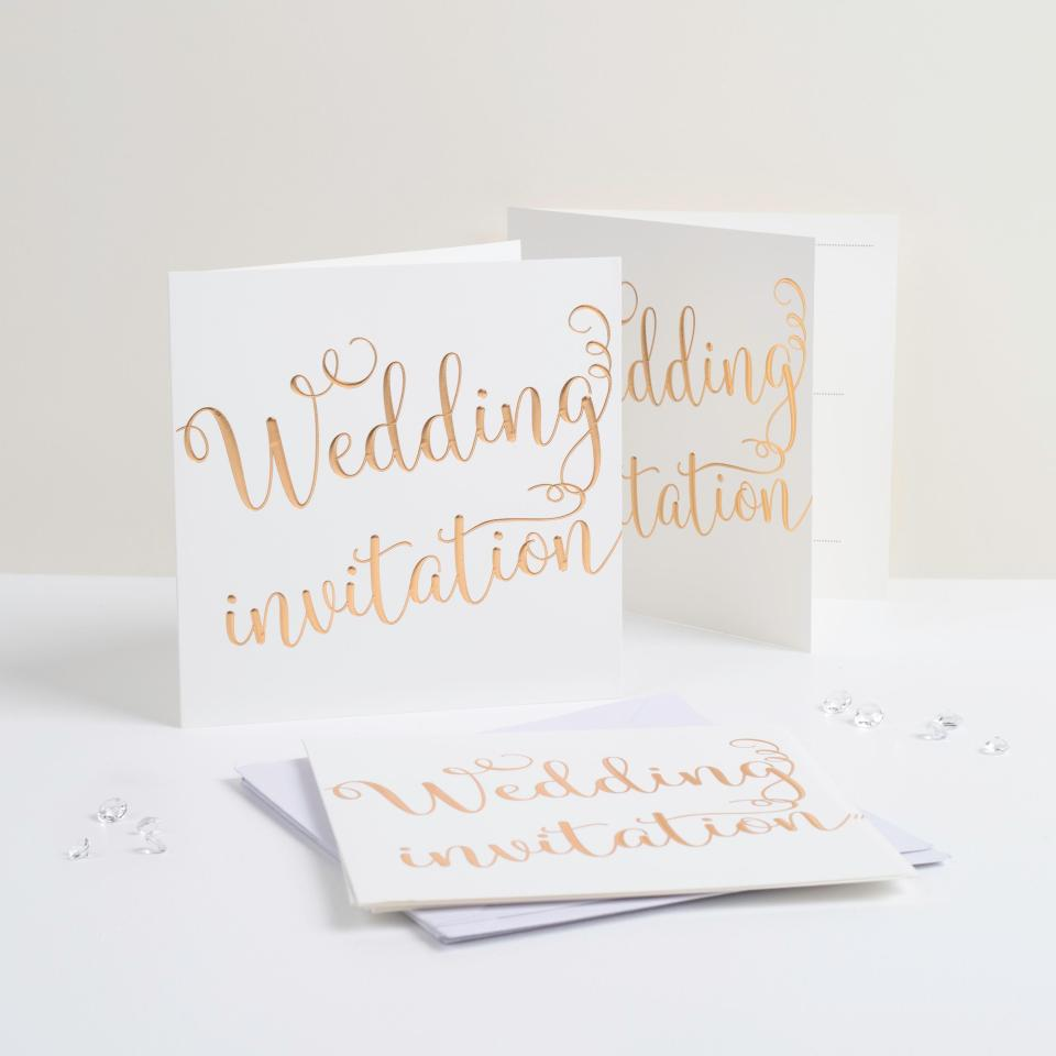 Cheap Online Wedding Invitations: Poundland Launch Wedding And Baby Ranges