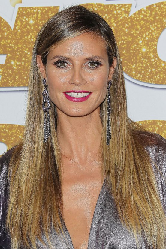 Heidi Klum is proof that the idea of long hair after 40 being a no go is absolute rubbish! At 45-years-old the supermodel is still rocking her long longs.
