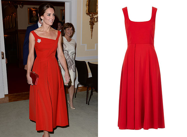 You can now buy the Kate red Preen dress for a fraction of the price