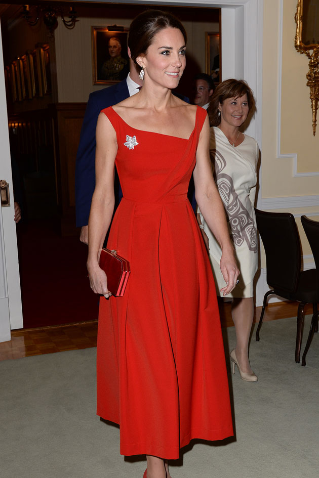 313a30ef23db You can now buy the Kate red Preen dress for a fraction of the price