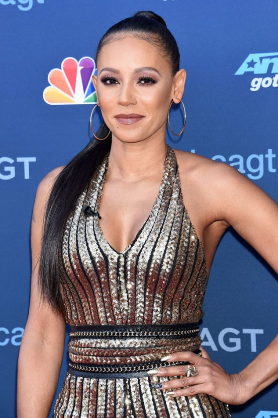 Mel B works incredibly daring outfit during Americas Got