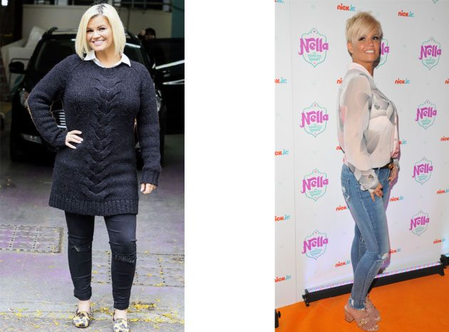 Amazing Celebrity Before And After Weight Loss Pictures Woman Magazine