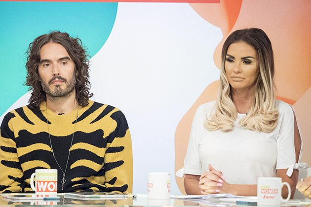 Russell Brand and Katie Price
