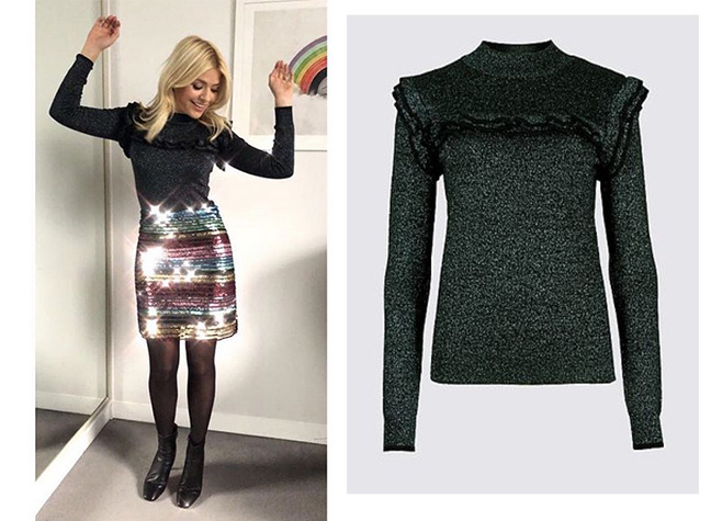 Holly Willoughby dresses to buy  How to steal the TV s golden girl s style d7b8bb13d