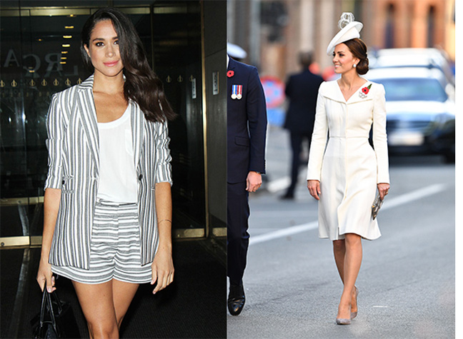 Fashion Designer Compares Meghan And Kate Style Calling Meghan Edgier