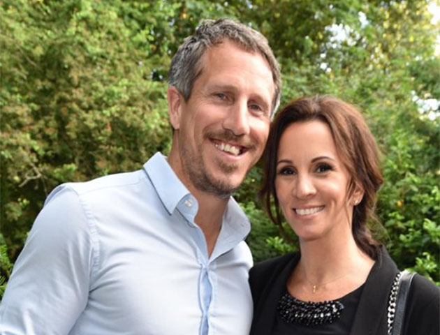 Andrea McLean and husband Nick Feeney