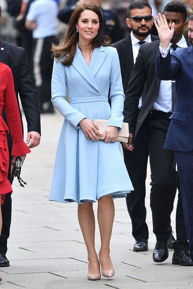 The secret trick Kate Middleton uses to stay secure in her ...