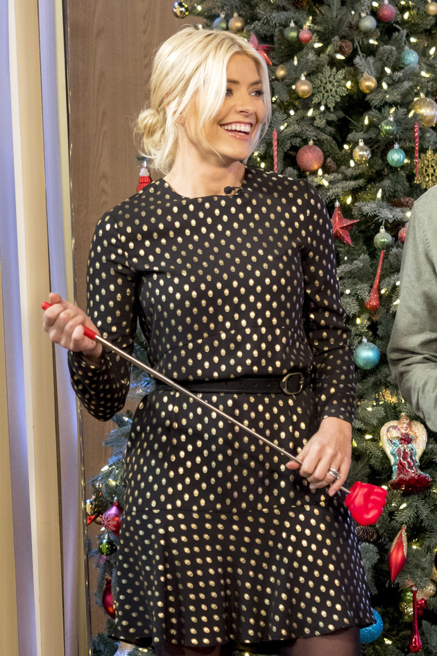 e1142a6e76 How YOU can get the Holly Willoughby polka dot dress for yourself