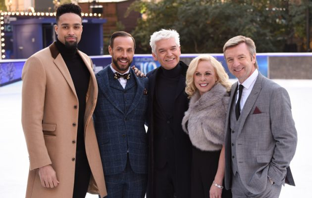 Phil and the Dancing On Ice judges