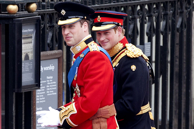 Prince Harry and Prince Wiliam
