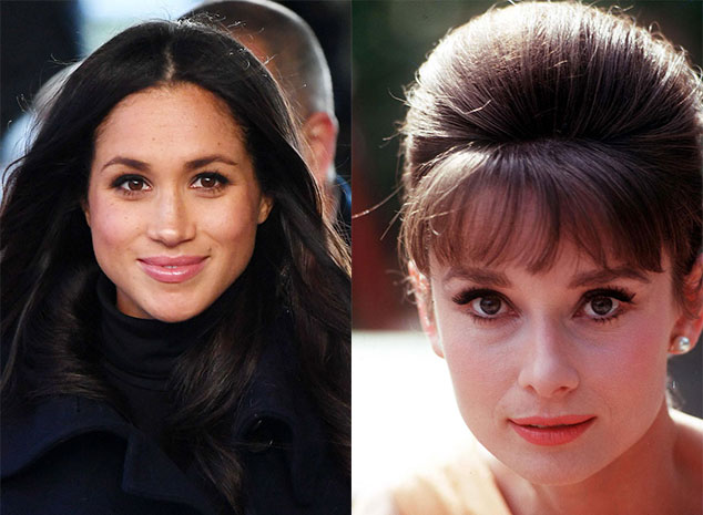 How To Get Meghan Markles Eyebrows As Inspired By Audrey Hepburn