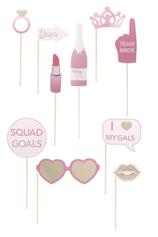 Hen Party Photo Props, £2.50