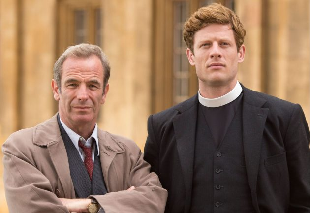 Grantchester: Robson Green and James Norton