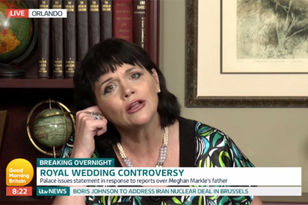 Samantha Markle on Good Morning Britain