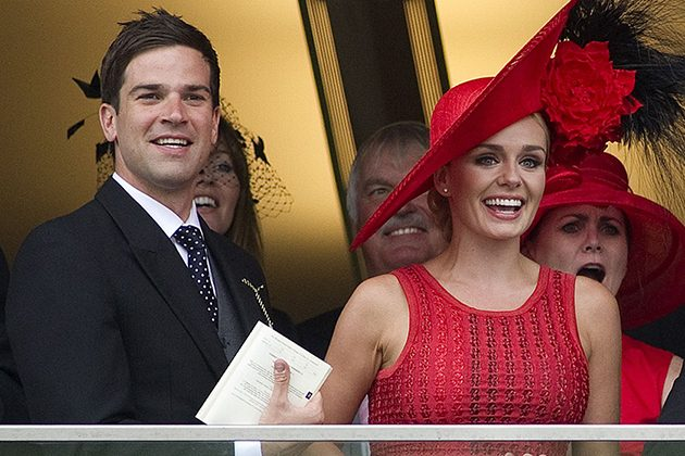 Gethin Jones and Katherine Jenkins