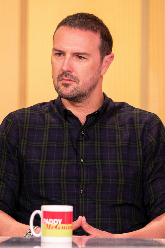 Paddy mcguinness dating programme
